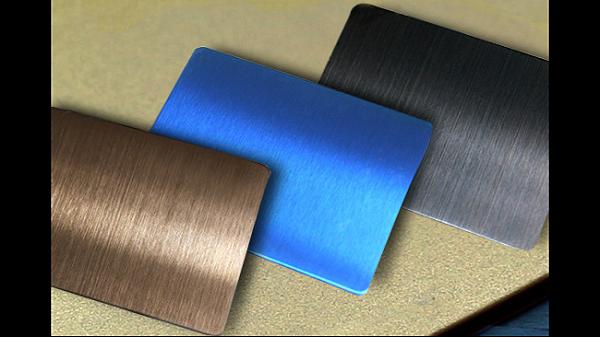 不锈钢拉丝生成线钛金板